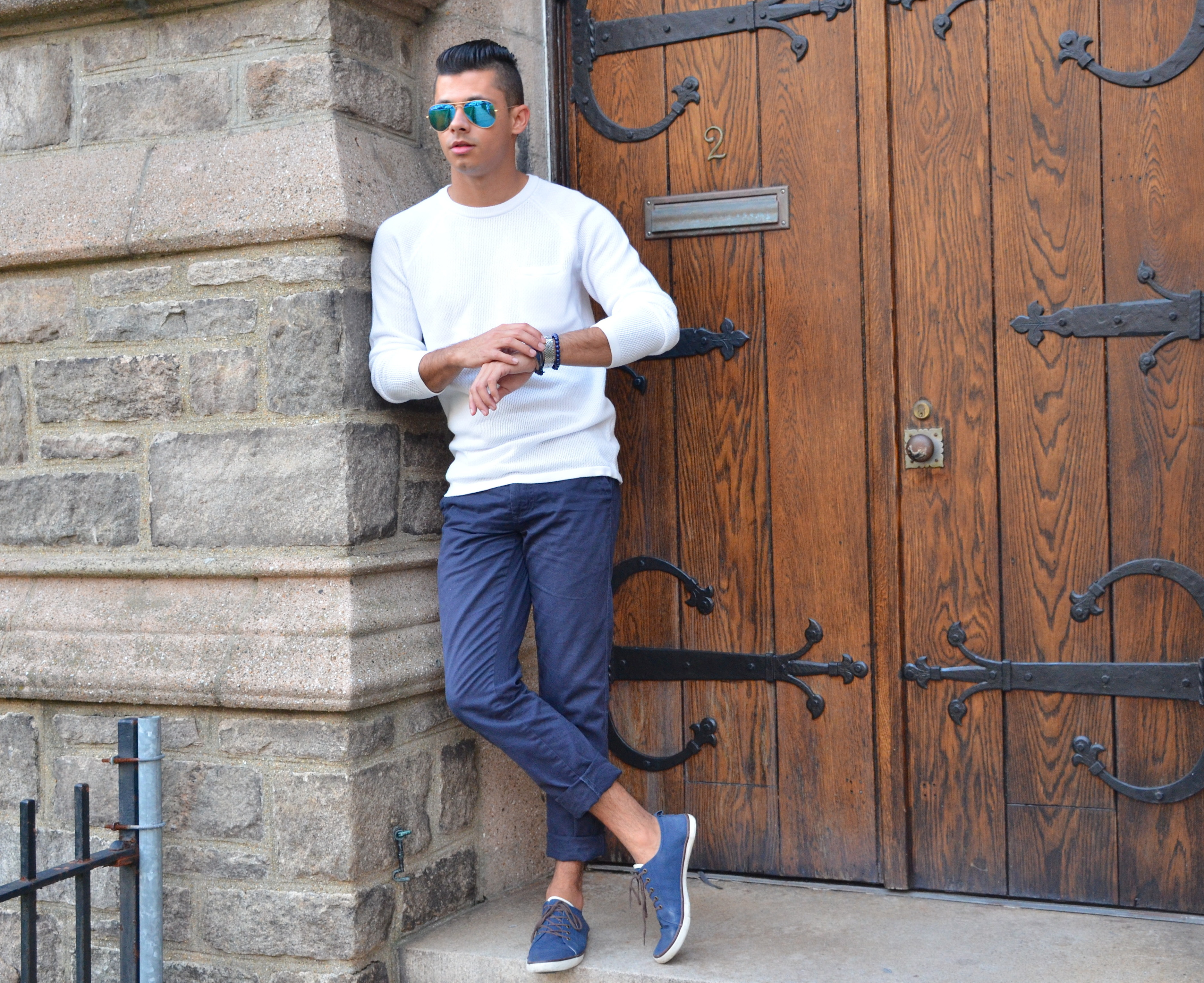 Fifty Shades of Navy Blue – fabiolous style